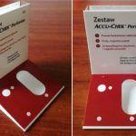 ekspozytor reklamowy, display z plexi na glukometr
