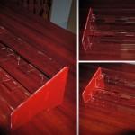 ekspozytor schodkowy z plexi