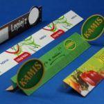 shelflinery reklamowe z pcv