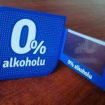 shelfstoper reklamowy, osłonka cenowa, 0% alkoholu (1)