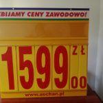 tablice reklamowe, cenowe, oznaczeniowe dla sklepu (2)
