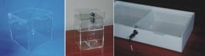pojemniki, urny, teraria z plexi