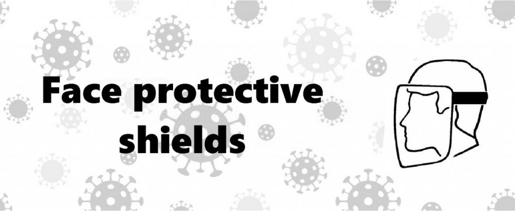 Face protective shields (header)
