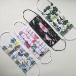 maseczki ochronne bawełniane 2 warstwowe, wzory 4