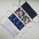maseczki ochronne bawełniane 2 warstwowe, wzory 3-Resize.com