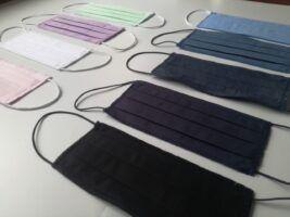 maseczki ochronne bawełniane 2 warstowe z certyfikatem, różne kolory 3