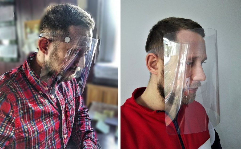 Face Protective shields (2)